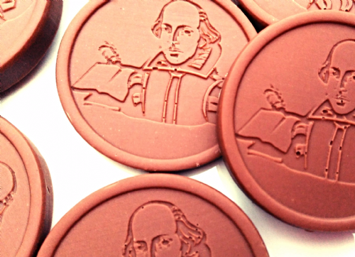 Shakespeare Chocolate Discs